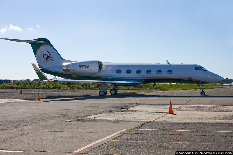 Gulfstream IV of Miami Dolphin owner Wayne Huizenga.