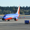 Southwest 737-7H4 - N775SW - at KSEA taken from the terminal waiting for return flight to KCLT
