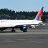 Delta 757 - Sea-Tac (KSEA) Airport - Taken from terminal while waiting for flight home to Charlotte. 7/13/2013 N699DL