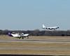 USAF RC-135 and Cessna 208B Caravan