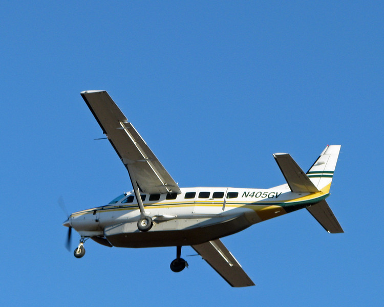 Cessna 208B Caravan. Departing Bethel, AK, October, 2011.