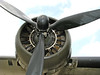 Wright Cyclone radial engine. One of four on the B-17.
