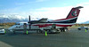 DeHaviland Dash 8 in Anchorage, AK. Flew on this to Kenai, AK in September, 2011.