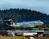 Alaska Airlines RJ on short final to PDX, September, 2013.