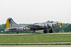"May 30, 2010. Jabara Airport, Wichita, Kansas. B-17G ""Liberty Bell"" taxiing in."