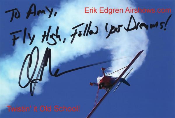 Erik Edgren Autograph!
