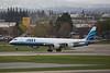 ATI DC8-7 N602AL landing at San Jose KSJC.