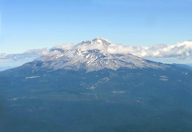 Mount Shasta. August 2004