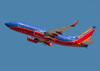 N939WN - Boeing 737-700 in Southwest colors departs from San Jose (KSJC)