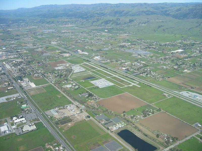 South County Airport (Q99) of Santa Clara County near the city of San Martin.