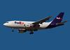 FedEx Airbus A310 landing at San Jose, CA.<br /> Registration N448FE