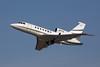Dassault Falcon 50 departing from San Jose International KSJC