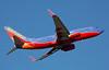 Southwest Airlines Boeing 737 departs from San Jose, CA. (KSJC)