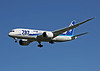 The ANA 787 arriving at San Jose California. JA813A