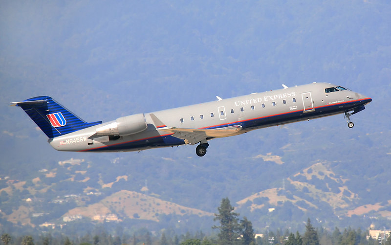 N945SW BOMBARDIER CL-600-2B19 departing from San Jose California.