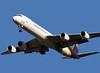 UPS DC-8-73F N803UP landing at San Jose, CA. KSJC