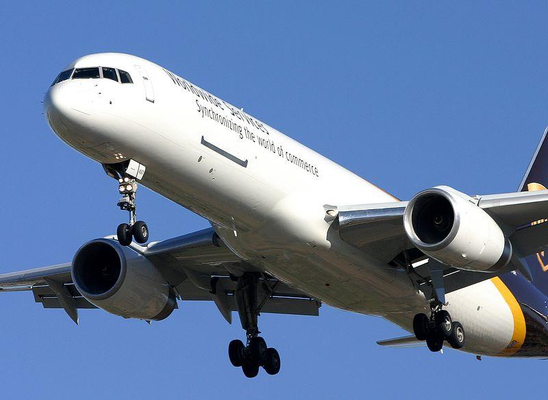 United Parcel Service UPS Boeing 757