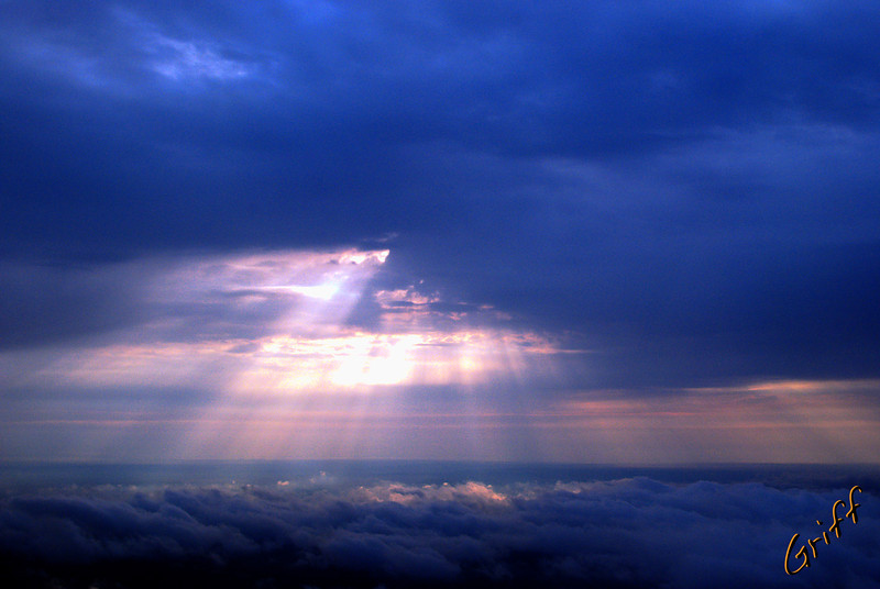 Sun Through Clouds*
