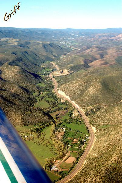 Hondo Valley South east of Sierra Blanca Regional Airport.