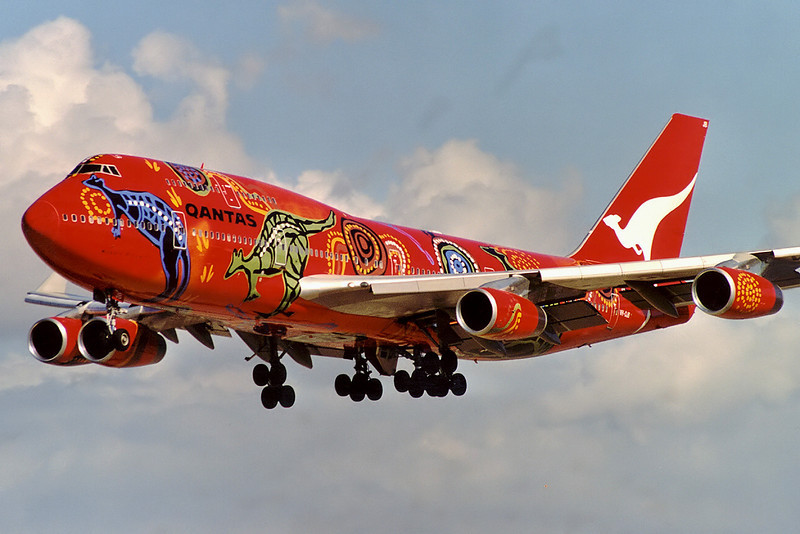 Airplanes in special colours