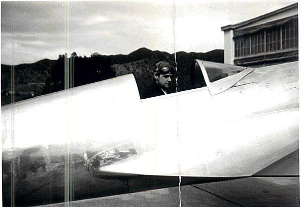 Howard Hughes in H-1 Racer