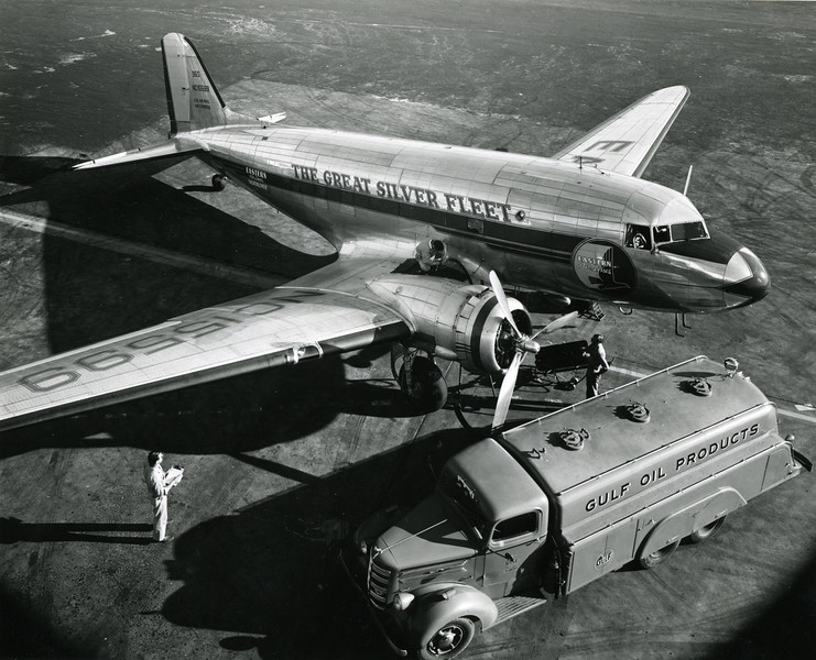 DC-3  owned by Eastern Airlines