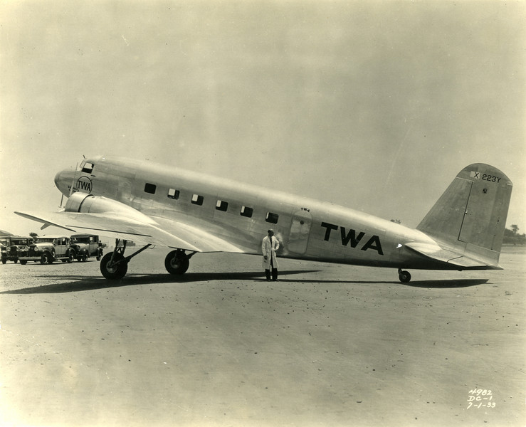 DC-1 used by TWA in 1939