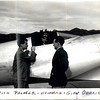 The prime designers of Howard Hughes Aircraft 1930's  Dick Palmer and Glenn Odekirk.