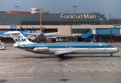 "KLM - Royal Dutch Airlines McDonnell Douglas DC-9-33RC  	Frankfurt am Main (Rhein-Main AB) (FRA / EDDF) Germany, May 1, 1986 Reg: PH-DNN  Cn: 47192/287 ""City of Vienna"". Delivery date was April 17, 1968. W/O March 18, 1989 near Saginaw, Tx with Evergreen Intl Airlines as N931F. After take off cargo door opened fully causing aircraft to strike ground in an inverted, nose down attitude with 2 crew fatalities."