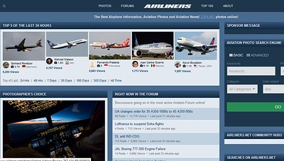 Top 24h www.airliners.net