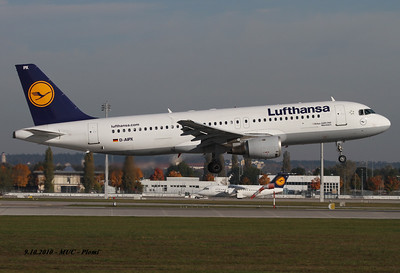 24.3.2015: In service for Germanwings: An Airbus A320 D-AIPX operated by Germanwings was destroyed in an accident in a mountainous area in southern France. All 144 passengers and six crew members were killed. Flight 4U9525 departed Barcelona, Spain at 10:00 hours local time (09:00 UTC) on a regular passenger service to Düsseldorf, Germany. The flight reached its cruising altitude of FL380 at 10:27 hours. Starting at 10:31 hours, the airplane began losing altitude. Last recorded position by flight tracking website Flightradar24 was over southern France at 10:40 hours. The aircraft impacted a very steep, rugged mountainside in the French Alps at an altitude of about 1500 m (4920 feet).  The French aviation authority, DGAC, stated that the crew did not report an emergency to air traffic control. The aircraft descended from 38,000 feet to 6,800 feet at an average rate of 3710 feet/miunute.