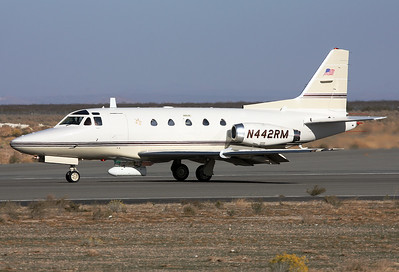 Mojave Airport, Ca.,USA, November 21st, 2008:  N442RM  Sabreliner 60 c/n 306-073  of BAe Systems YOM 1974 crashed at San Diego Brown Field, California, USA  on August 16th, 2015. Circumstances: On final approach to San Diego-Brown Field Airport, the aircraft collided with a Cessna 172 that was carrying one pilot. Following the collision, both aircraft dove into the ground and crashed in a field located two miles northeast of the airport. All five people on both aircraft were killed.