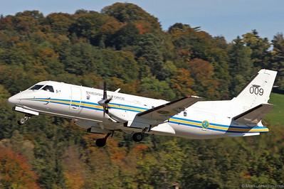 009 SF340 Swedish Air Force @ Bern Switzerland 9Oct05