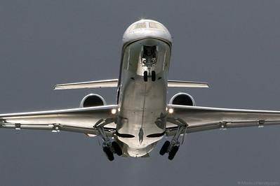 HB-IWX ERJ-135BJ G5 Executive @ Bern Switzerland 3Mar03