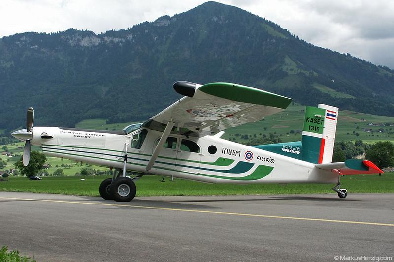 1316 PC-6/B2-H4 #783 Kaset @ Buochs Switzerland 4Jul02