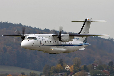 D-CPRW Do328 Cirrus Airlines @ Bern Switzerland 22Oct10