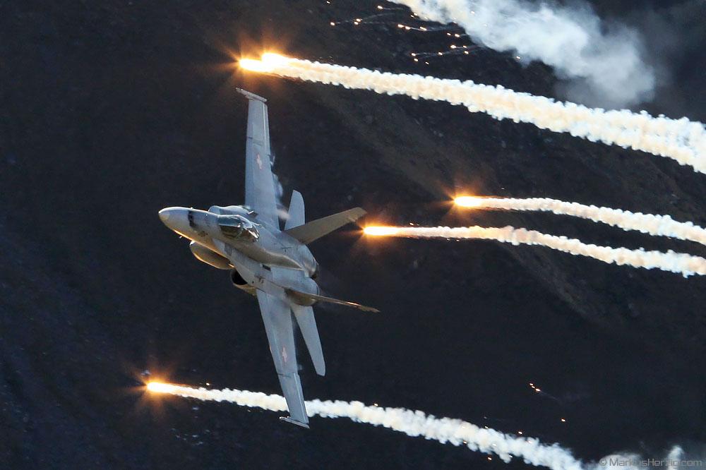 J-5016 F/A-18C Swiss Air Force @ Axalp Switzerland 14Oct10