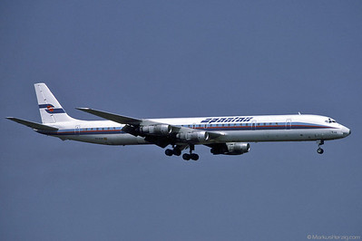 EC-DVB DC-8-61 Spantax @ Zurich Switzerland 11Aug85
