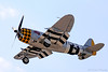 P-47 Thunderbolt. This is the plane that had engine failure on May 27, 2016.The pilot, Bill Gordon, ditched in the Hudson river.Tragically Bill drowned in the plane as it sunk very quickly. He died a heroes death making sure the aircraft stuck nothing on the ground. He will be missed. May he rest in peace.