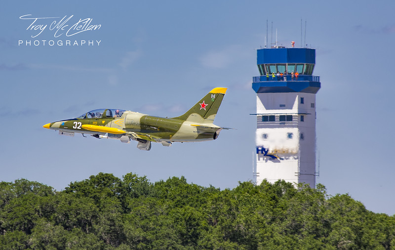 L-39 Takes Off From Lakeland-Linder Airport at Sun n' Fun 2017