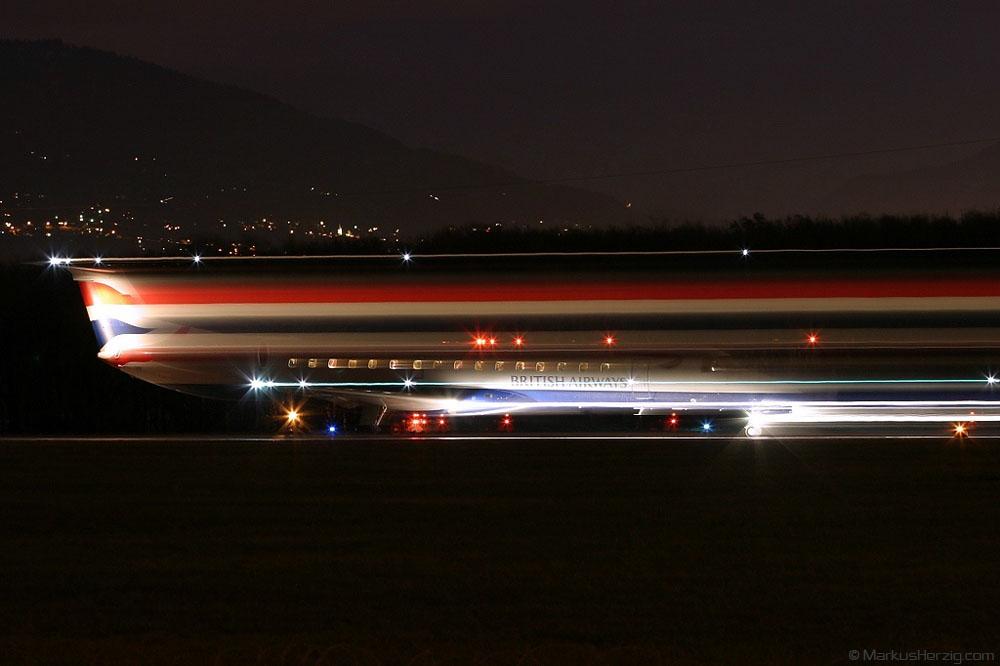 G-EMBX EMB-145 British Airways @ Geneva Switzerland 27Dec03