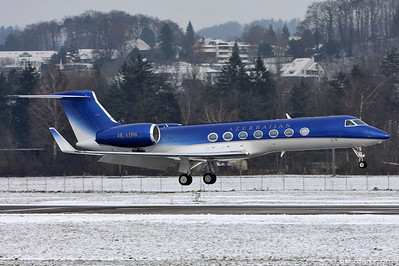 4K-AI06 Gulfstream G550 Azerbaijan Government @ Bern Switzerland 15Dec10