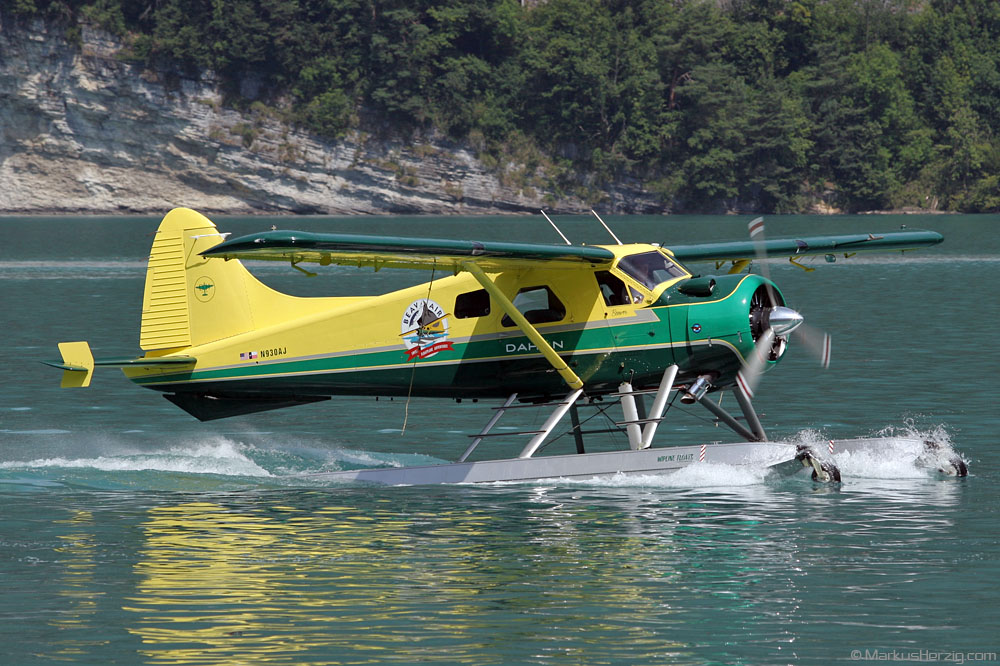 N930AJ DHC-2 Beavair @ Boenigen Switzerland 1Jul07