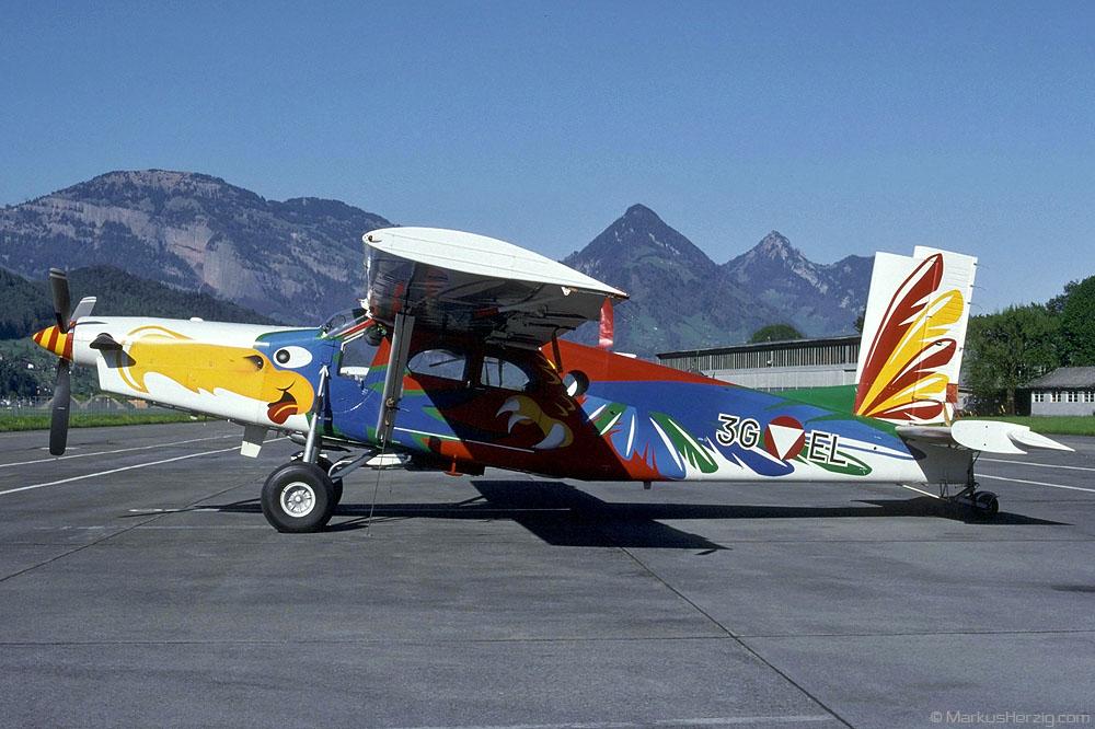 3G-EL PC-6/B2-H2 sn777 Austrian Air Force @ Buochs Switzerland 30Apr02