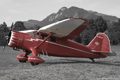 F-GPJS Stinson SR-10C Reliant @ Gruyeres Switzerland 13Jun03