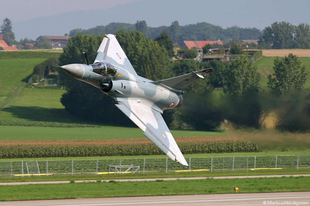 5-OZ Mirage 2000C French Air Force @ Payerne Switzerland 6Sep04