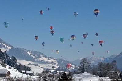 Balloon Weeks @ Chateau-d'Oex Switzerland 30Jan05