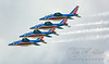 Patrouille de France, French Air Force Aerobatic Team on Opening Day at Sun 'n Fun. 2017
