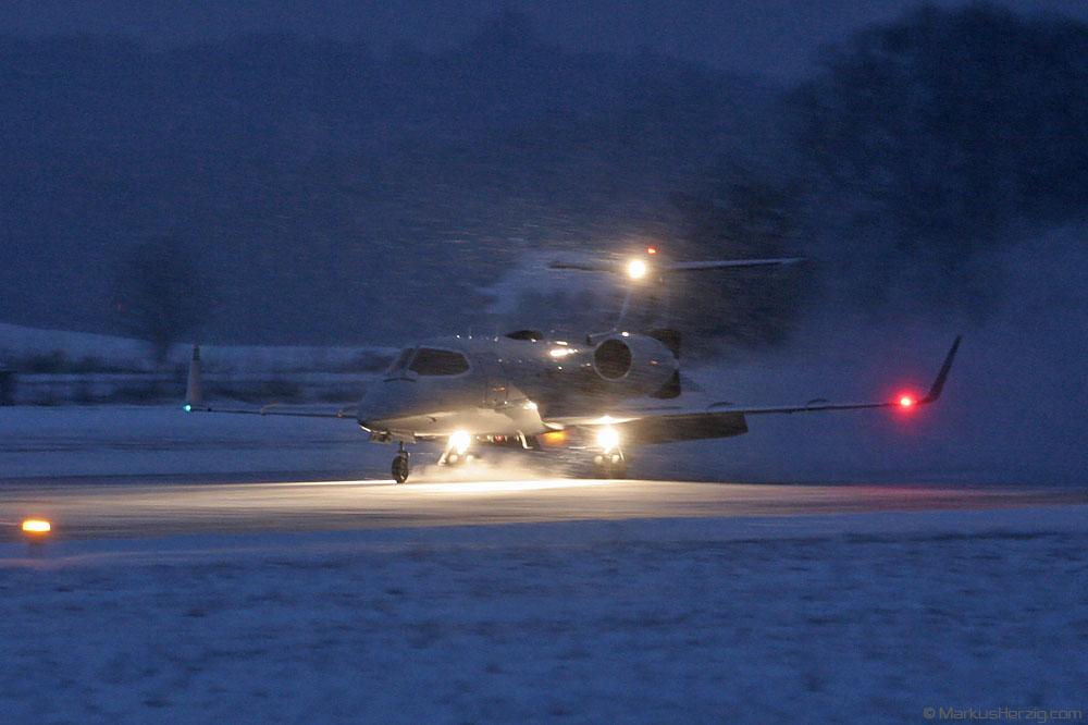 D-CSAP Learjet 31 SAP Systems @ Bern Switzerland 29Dec05