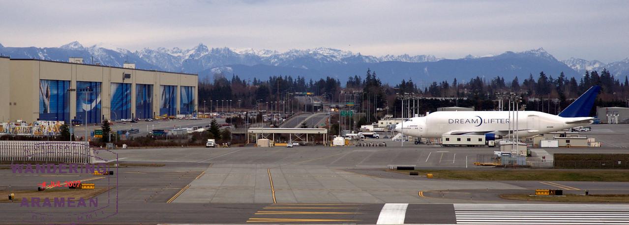 Boeing DreamLifter (N249BA) at Paine Field